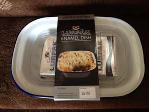 2 x 250g Lurpak with an Enamel dish @ Tesco - £4