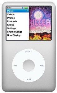 amazon ipod classic silver 160GB 6th Gen £152 @ Amazon