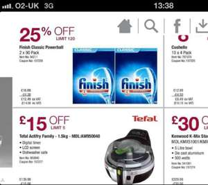 Finish classic dishwasher tablets x180 £14.98 @costco