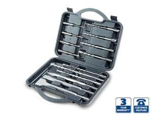 14 Piece SDS Drill Bit and Chisel Set £9.99 @ALDI from Sunday 29th September
