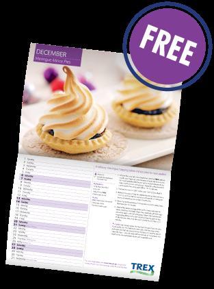 FREE 2014 Trex calendar