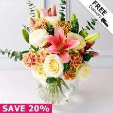 Debenhams Flowers bouquet delivered for £20.99 (normally £37.50 - 20% off in sale, free delivery and £5 off voucher code AFFV5)