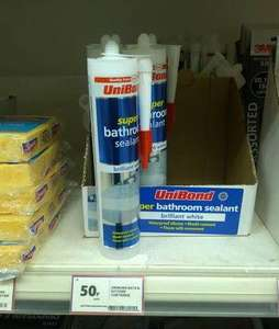 Unibond Bath & Kitchen silicone sealant 50p @ Tesco instore