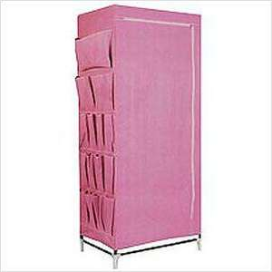 Canvas Wardrobe, in PINK/TAUPE, £7.99 @ Home Bargains instore