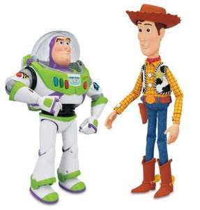 Toy Story Interactive Buzz and Woody £33.33 @ Amazon