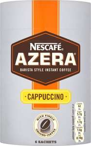 Nescafe Azera Cappuccino/Latte 96g/108g was £2.99 now £1.49 @ Morrisons