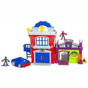 Playskool Heroes Marvel Super Hero Adventures - Spider-Man Crime Fightin' Headquarters From TheToyShop.com (The Entertainer) £19.99 from £39.99 Free Click + Collect