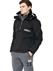 Superdry Technical Pop Zip Wind Mens Cagoule. £29 down from £74 - Littlewoods
