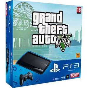 Argos £199.99 PS3 500gb Slim Console & Grand Theft Auto V and The Last Of Us
