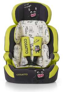 Cosatto Zoomi Group 1/2/3 High Back Booster Car Seat (Little Monster) £85.00 @Amazon