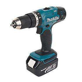 Makita 18v Drill + 2 Lithium Batteries £99 @ B&Q