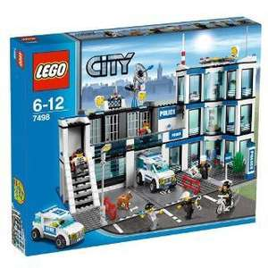 LEGO City Police Station 7498 £54 + 500 Extra Club Card Points  @ Tesco Direct