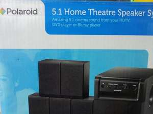 Polaroid 5.1 Home Theatre Speaker System £20 @ Asda Instore