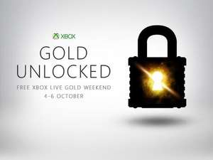 Free XBOX LIVE GOLD Weekend 4 - 6 October & 3 Months free Eurosport for existing Gold subscribers