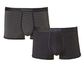 2 Pairs Autograph Microskin boxers £9.00 + Free Delivery (with code) and 3% TBC @ M&S