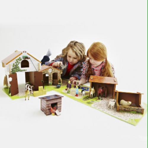 ELC Brambledale Farm - Wooden farm building set £25, save £10 plus free delivery to store @ Mothercare