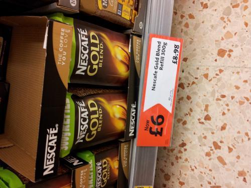 Nescafe Gold Blend 300g £6.00 @ Morrisons