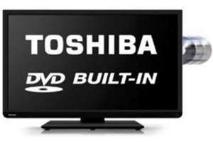 "Toshiba 40d1333 40"" LED back light TV DVD combination - £239 @ asda"