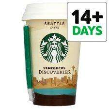 Starbucks Seattle Latte 220Ml £1 (60p after cashback) @ tesco