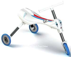 Scuttlebug Zoom in white and blue only £15.33 delivered from Amazon
