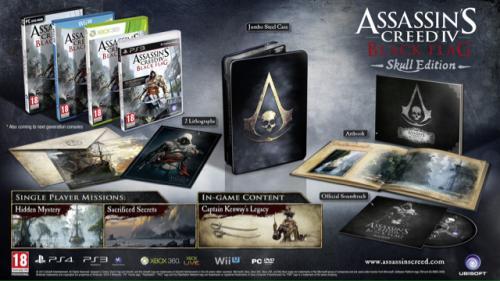 Xbox One & PS4 Assassins Creed IV Black Flag Skull Edition £56.99 at Amazon