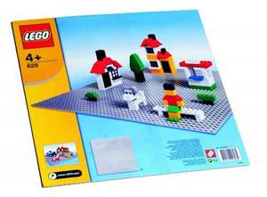 Lego extra large grey base plate (48x48): reduced + in Argos 3 for 2 + free home delivery makes them £15 for 3, so £5 each, less than half price
