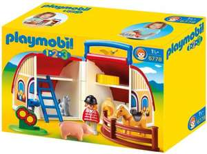 Playmobil 1.2.3 take along barn £9.99 @ Amazon