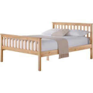Pastelle Oak Kingsize Bed Frame - £144.49 @ ARGOS