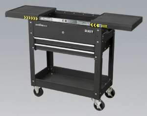 Sealey Black Tool Trolley £49.99 @ Halfords