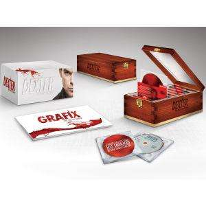 Dexter: The Complete Series 1-8 Collection - Limited Edition Zavvi Exclusive Blu-ray 149.99