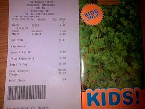 Carters Seeds - 79p a pack or 4 for £1 @ Poundstretcher