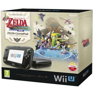 Nintendo Wii U Console Premium Pack + The Legend of Zelda: Wind Waker HD - Black play.com/Shopto £199.99