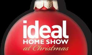 10,000 pairs of FREE Ideal Home Xmas Tickets (worth £28) - Code goes live on Thu 14:30 to get up to two free tickets