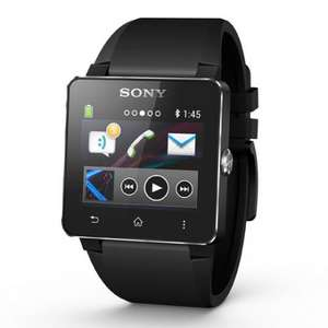 Sony SmartWatch 2 SW2 Android Smart Watch Black Silicone £115.22 Delivered* @ Scan