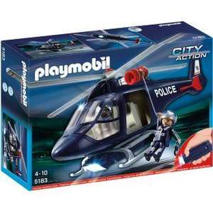 Playmobil 5183 Police Helicopter rrp £29.99 currently £17.99 with Pixmania and free delivery