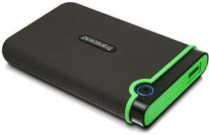 Transcend 1TB 2.5 inch USB 3.0 Military-Grade Shock Resistance Portable External Hard Drive £58.99 @ Amazon