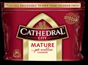Cathedral City Mature Cheddar 2 x 350g £3.74 @ Tesco