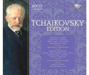 Tchaikovsky Edition 60 CD Set @ Selections £35 + postage £2.95 - OSP £140