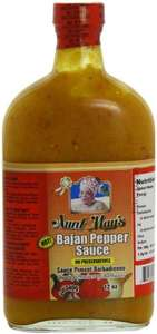Aunt May's Bajan Pepper Sauce 340 g Half Price £1.87 With Subscribe & Save @ Amazon