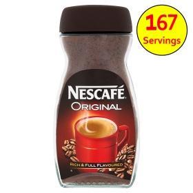 Nescafe Original Coffee 300g £4.00 at Asda
