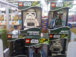 Costco - Lego Star Wars Mini Figure Alarm Clocks (Darth Vader, Stormtrooper, Boba Fett) £11.99