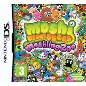 Moshi monster moshling zoo Nintendo ds game £5.00 @ Tesco Direct