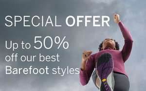 Merrell sale on Barefoot Range - up to 50%