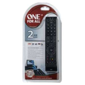 One for All 2 - Universal TV Remote £5.99 @ Sainsbury's instore