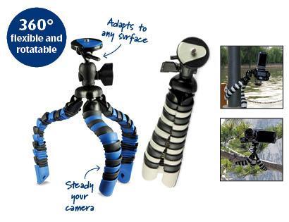 Flexible Mini Tripod (Gorillapod alternative) - £6.99 at Aldi