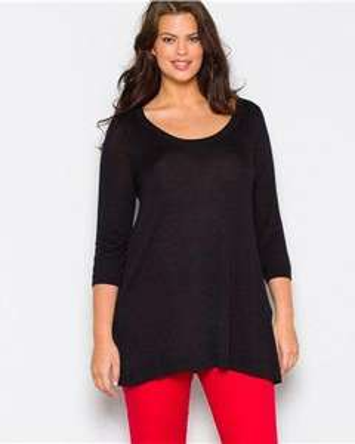 La redoute en plus dual fabric sweater Good  looks, good value and a good deal £27 @ Castaluna UK