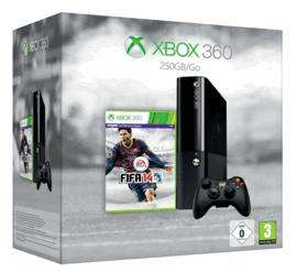 Xbox 360 250GB with FIFA 14 and Grand Theft Auto V £199.99 @Game