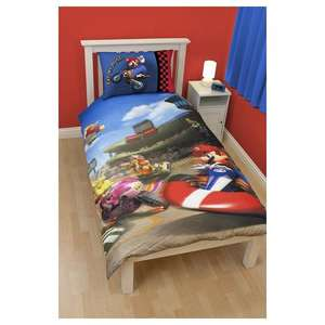 Mario Kart single duvet cover £2.25 @ Asda