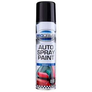 300ml tins of ProDriver Spray Paint, cars, Banksy, PC cases etc - Poundland - £1