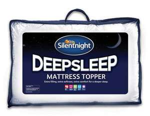 Silentnight sleep toppers from £19.99 @ Ebay/ uk-bedding